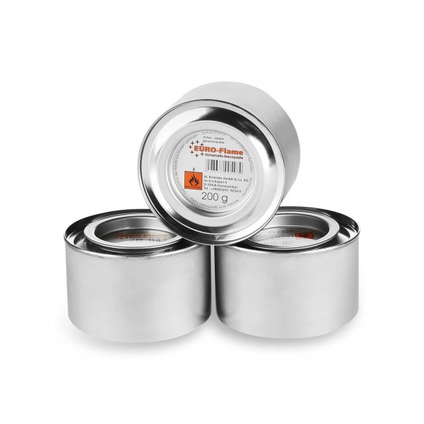 3x Sicherheits Brennpaste (Made in Germany)