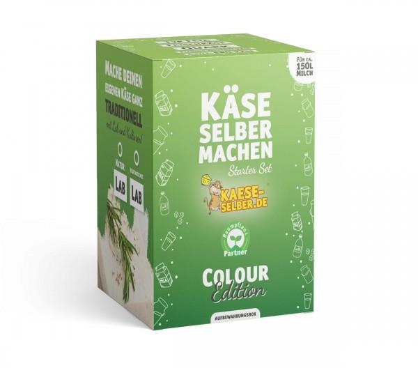 Käse selber machen Starter Set -Colour Edition- GRÜN