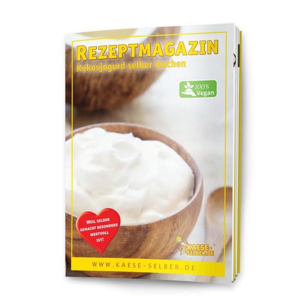 "Rezeptmagazin ""Kokosjogurd selber machen"" DIN A5"