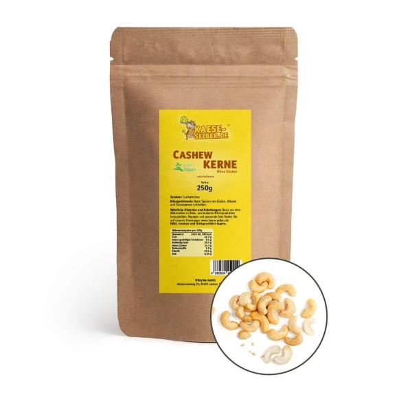 Cashewkerne roh 250 g, Cashewnüsse in Bio-Qualität