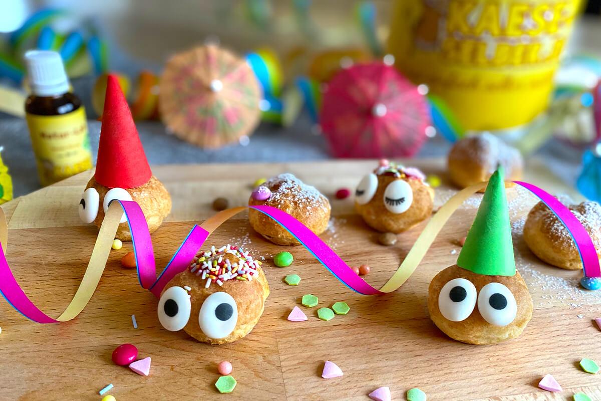 Ideale Partysnacks - auch für Faschingsmuffel!