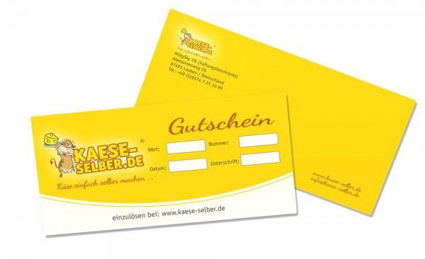Gutschein KAESE-SELBER.CH Onlineshop