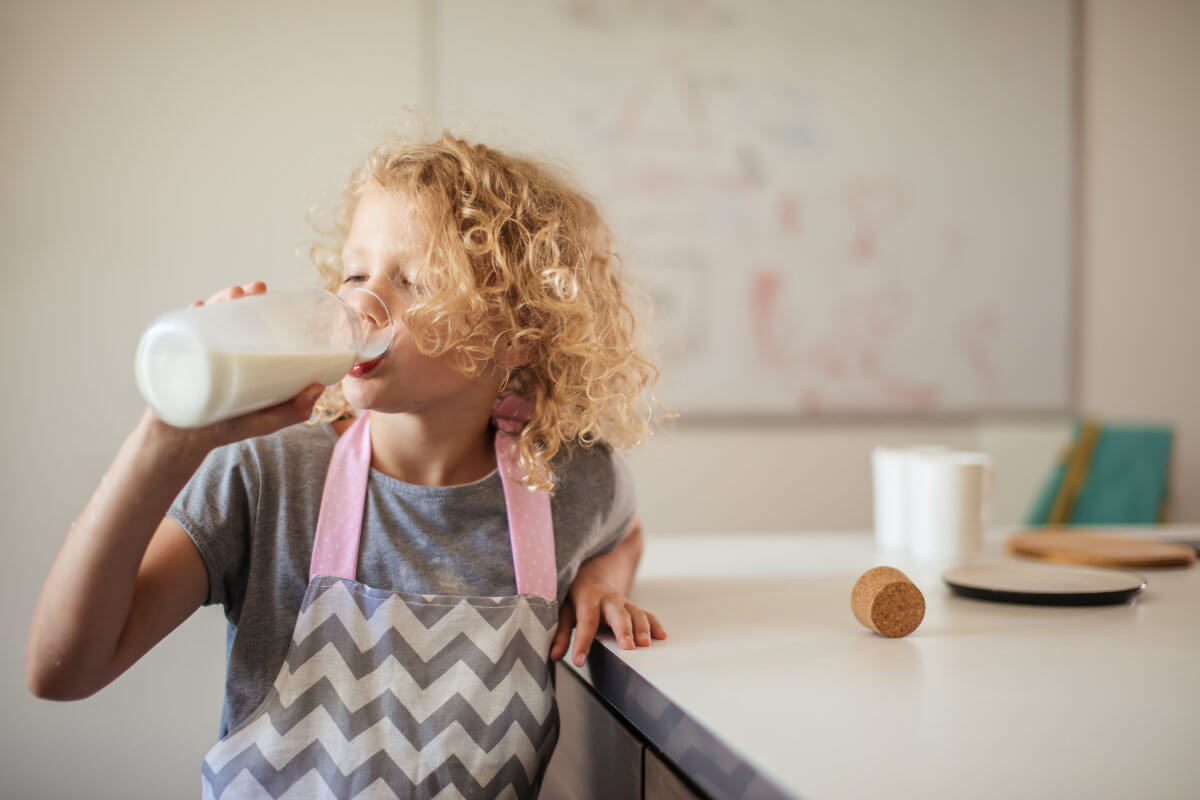 Milch, Bedeutung für den Körper