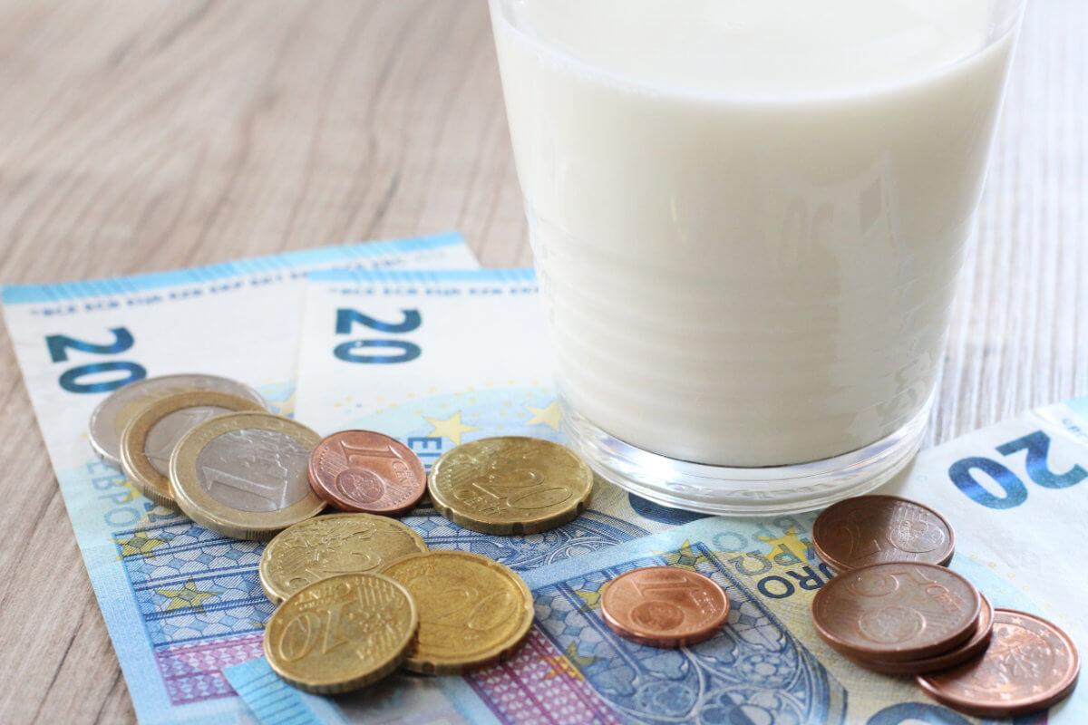 Der Milchpreis - ein stark diskutiertes Thema
