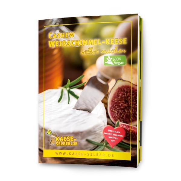 Veganer Cashew Weißschimmel-Keese selber machen - Rezeptmagazin DIN A5