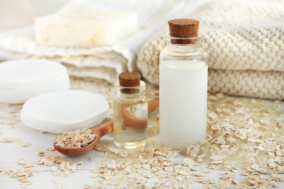 Milch in der Kosmetikbranche